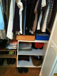 Shelf in Closet